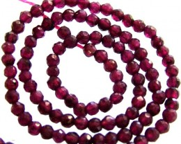 A GRADE FACETED GARNET BEAD RUBY LIKE COLOUR 46.55CTS GT1997