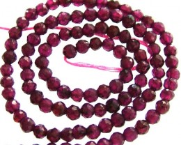 A GRADE FACETED GARNET BEAD RUBY LIKE COLOUR 46.75CTS GT2008