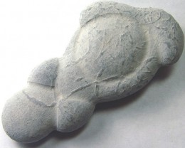 CANADIAN FAIRY STONE CONCRETION SCULPTURE 161CTS AS-3031