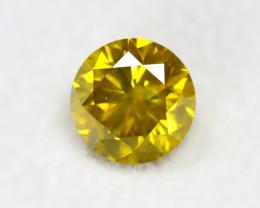 Yellow Diamond 1.54Ct Natural Genuine Fancy Yellow  Diamond BM841