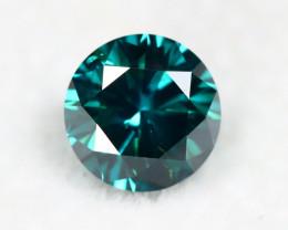 Blue Diamond 0.95Ct Natural Genuine Fancy Blue Diamond BM842