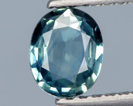 Burma Sapphire 0.54 Cts Unheated Natural Teal Color Gemstone