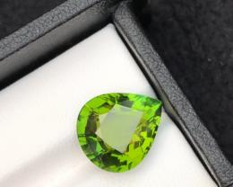 Majestic Color7.95 ct  Natural Green Color Tourmaline t