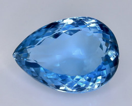 Crt  13.61  topaz  Faceted Gemstone (Rk-29