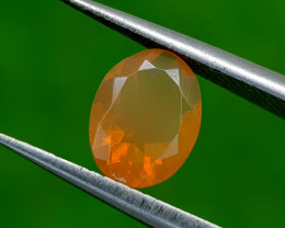 0.75CT FACETED FIRE OPAL BEST QUALITY GEMSTONE IIGC122