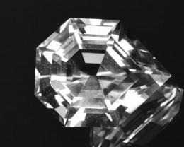 NO TREAT 41.36Ct Topaz Precision German Brilliant Cut Gemstone