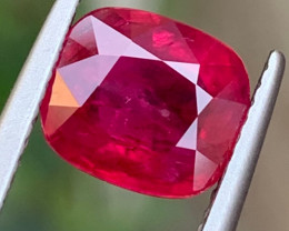 AIG~Vivid Red 3.03 Carats Natural Ruby from Mozambique