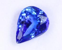 1.72cts Natural Tanzanite Gemstone / ZBKL1753