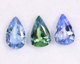 3.18cts Natural Tanzanite Gemstone LOTS / JKL1758