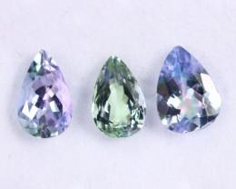 3.09cts Natural Tanzanite Gemstone LOTS / JKL1765