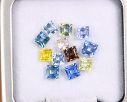 4.73cts Natural Candy Colour Sapphire Lot/MAX2557