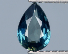 Burma Sapphire 0.57 Cts Natural Unheated Teal Color Gemstone