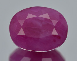 Ruby 2.76 Cts  Pinkish Red Color Natural Ruby Gemstone