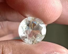 Golden Rutilated Quartz Faceted Gemstone 100% NATURAL AND UNTREATED VA2094