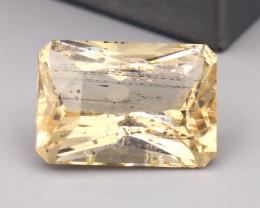 Scapolite 15.54Ct Octagon Cut Natural Yellow Color Scapolite C2228