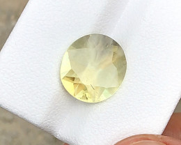 3.55 Carats Natural Yellow Tourmaline Cut Stone from Afghanistan