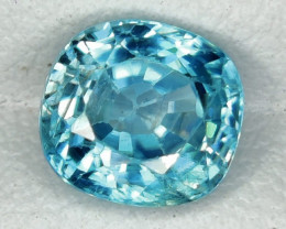 2.20 CTS AWESOME SPARKLE NATURAL RARE BEST BLUE ZIRCON~EXCELLENT!