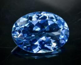 Crt  12.27 topaz Natural  Faceted Gemstone.( AB 34)