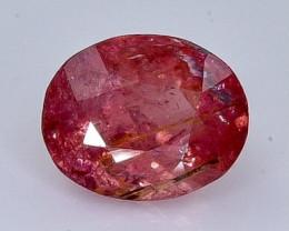 Crt 1.92 tourmaline  Natural  Faceted Gemstone.( AB 34)