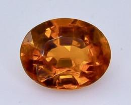 Crt  1.23  spessartite garnet  Natural  Faceted Gemstone.( AB 34)