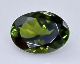 Crt 1.00 tourmaline  Natural  Faceted Gemstone.( AB 34)
