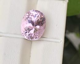 ~NR~HGTL Certified 7.65 Carats Natural Kunzite Nice Cut Gemstone From Afgha