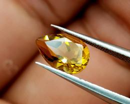 1.33Crt Madeira Citrine Natural Gemstones JI82