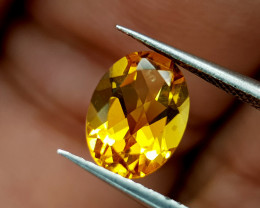 1.15Crt Madeira Citrine Natural Gemstones JI82