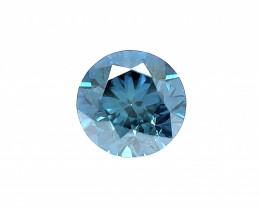 0.52 CT Diamond Gemstones Top blue color