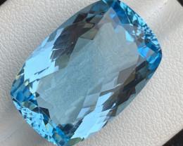 29 Carats Blue Topaz Gemstone