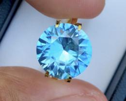 6.80 Ct Gorgeous Color Natural Vibrant Blue Zircon Z2