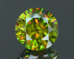 Rare 2.43Ct AAA Fire Sphene Chrome Exquisite Quality @Pakistan