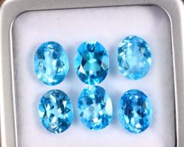 13.21cts Natural Swiss Blue Topaz Lots  /MAZ2576