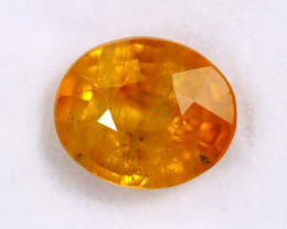 3.86cts Natural Orange Sapphire /MAW2587