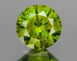 Green Diamond 0.11 Cts Fancy Color Natural Diamond