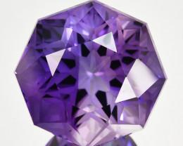~CUSTOM CUT~2.59  Cts Natural Purple Amethyst Fancy Cut Bolivia
