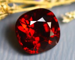 Almandine 3.70Ct Natural Vivid Blood Red Almandine Garnet  D2601/A5