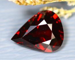 Almandine 3.05Ct Natural Vivid Blood Red Almandine Garnet  D2603/B26