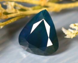 Unheated Sapphire 1.00Ct Natural Peacock Sapphire D2609/B9