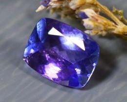 Tanzanite 1.03Ct Natural VVS Purplish Blue Tanzanite D2615/A45