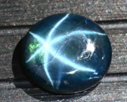 Star Sapphire 19.78Ct Natural 6 Rays Blue Star Sapphire  D2622/A39