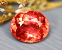 Tourmaline 1.26Ct Natural Orangey Pink Color Tourmaline E2702/B49