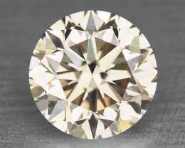 Diamond 0.07 Cts Untreated Natural Fancy Pinkish Brown Color