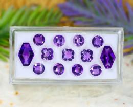 Amethyst 7.93Ct VVS Natural Bolivian Purple Amethyst Lot C2305