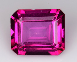 6.90 Ct Pink Topaz Top Cut And Top Luster Gemstone PT01