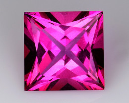 3.87 Ct Pink Topaz Top Cut And Top Luster Gemstone PT04