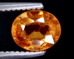 Crt  0.96 spessartite garnet  Faceted Gemstone (Rk-30