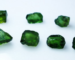 31.90 CTs Natural & Unheated~Green Apatite Rough Lot