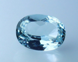 1.20 CTs Natural & Unheated~ Blue Aquamarine Gemstone
