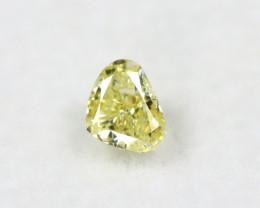 Yellow Diamond 0.35Ct Natural Untreated Genuine Yellow Diamond BM896